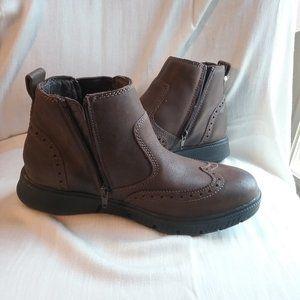 Josef Seibel Men's Leather Ankle Boots, 7.5 &10.5